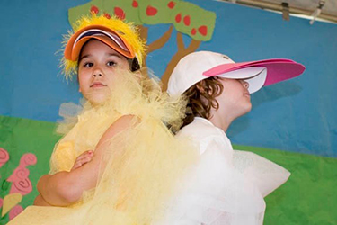 Duck and Goose Treasure Time Productions Drama Program