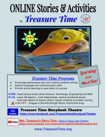 Online Stories & Activities presented by Treasure Time